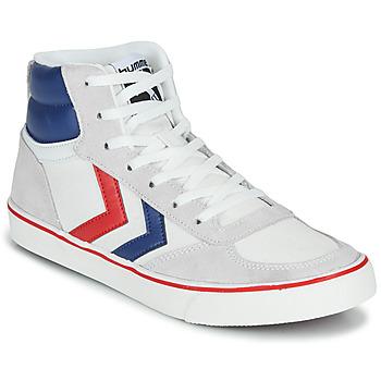 Shoes Hi top trainers Hummel STADIL HIGH OGC 3.0 White / Blue / Red