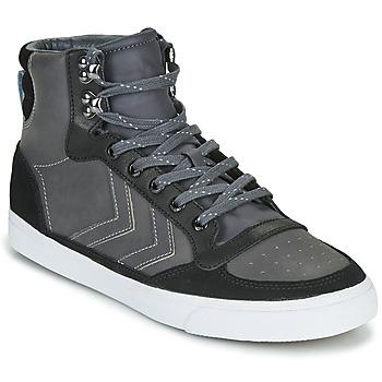 Shoes Hi top trainers Hummel STADIL WINTER Black / Grey