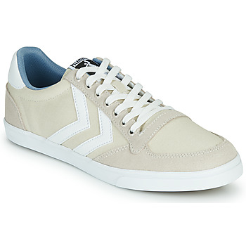 Shoes Low top trainers Hummel SLIMMER STADIL LOW Beige