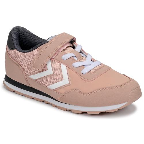 Shoes Girl Low top trainers Hummel REFLEX JR Pink