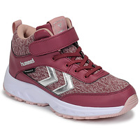 Shoes Girl Low top trainers Hummel ROOT WINTER Pink