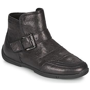 Shoes Women Mid boots Geox AGLAIA Black