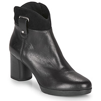 Shoes Women Ankle boots Geox ANYLLA MID Black