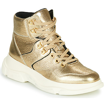 Shoes Women Ankle boots Geox MACAONE Gold