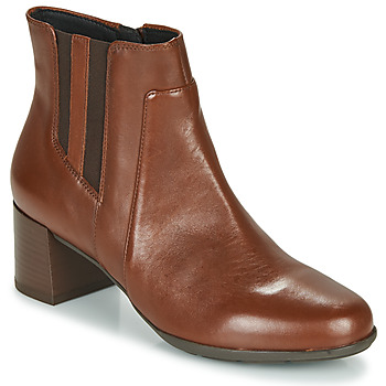 Shoes Women Ankle boots Geox NEW ANNYA MID Brown