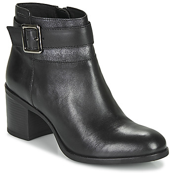 Shoes Women Ankle boots Geox NEW ASHEEL Black