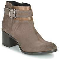 Shoes Women Ankle boots Geox NEW ASHEEL Beige