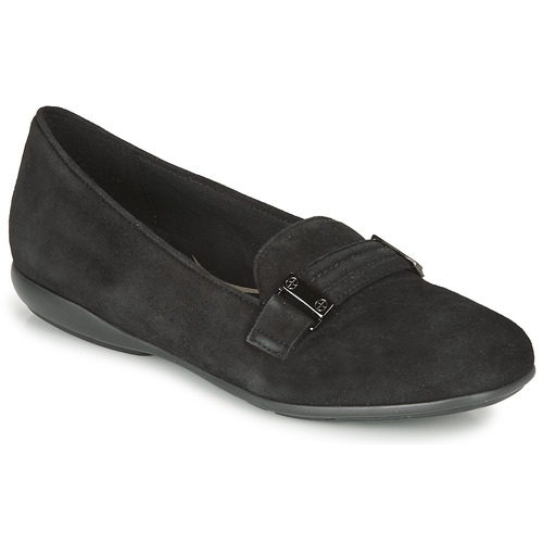 Shoes Women Flat shoes Geox ANNYTAH Black