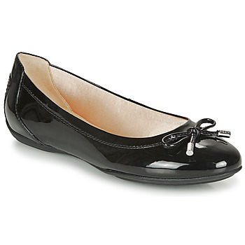 Shoes Women Flat shoes Geox CHARLENE Black