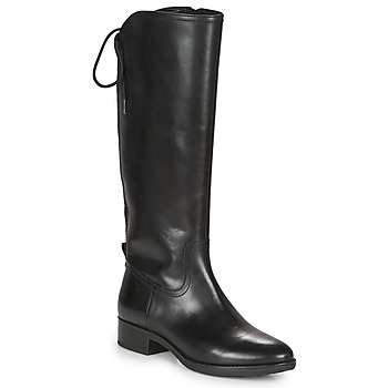 Shoes Women High boots Geox FELICITY Black