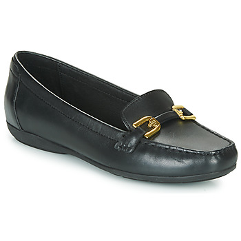Shoes Women Loafers Geox ANNYTAH MOC Black