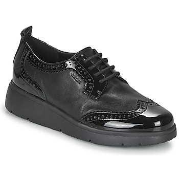 Shoes Women Derby Shoes Geox ARLARA Black