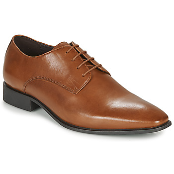 Shoes Men Derby Shoes Geox UOMO HIGH LIFE Cognac