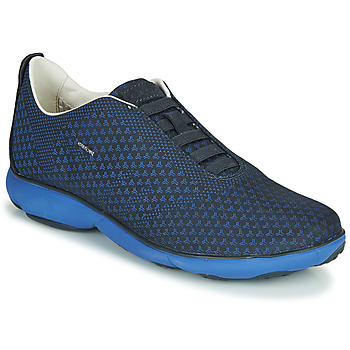 Shoes Men Low top trainers Geox U NEBULA E Blue