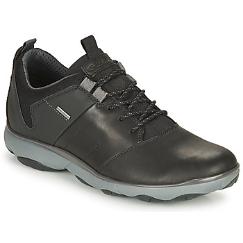Shoes Men Low top trainers Geox NEBULA 4 X 4 B ABX Black