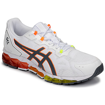 Shoes Men Low top trainers Asics GEL-QUANTUM 360 6 White / Orange / Green