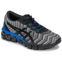 Shoes Children Low top trainers Asics GEL-QUANTUM 180 5 GS Grey / Black / Blue