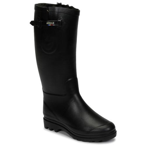 Shoes Women Snow boots Aigle AIGLENTINE FUR Black