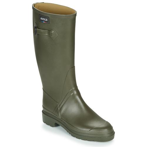 Shoes Men Wellington boots Aigle CESSAC Kaki