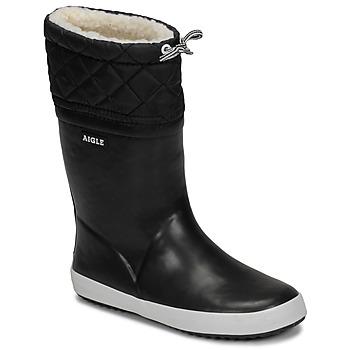 Shoes Children Snow boots Aigle GIBOULEE Black