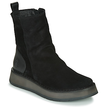 Shoes Women Mid boots Fly London RENO Black