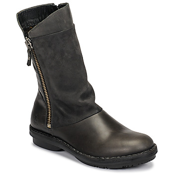 Shoes Women Mid boots Fly London FLEE Grey