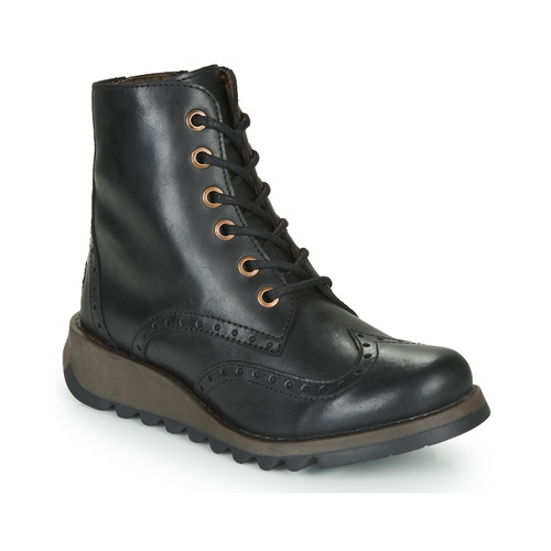 Shoes Women Mid boots Fly London SARL069FLY Black