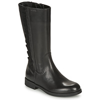Shoes Girl High boots Geox AGGATA Black