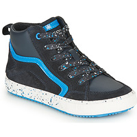 Shoes Boy Hi top trainers Geox ALONISSO Marine