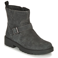 Shoes Girl Mid boots Geox CASEY WPF Grey