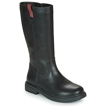 Shoes Girl High boots Geox ECLAIR Black
