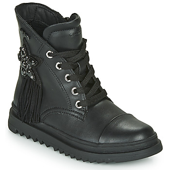 Shoes Girl Mid boots Geox GILLYJAW Black