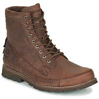 Shoes Men Mid boots Timberland ORIGINALS II LTHR 6IN BT Brown