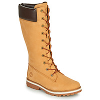 Shoes Girl High boots Timberland COURMA KID GIRLS TALL ZIP Wheat