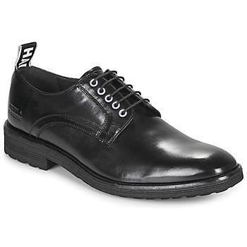 Shoes Men Derby Shoes Melvin & Hamilton EDDY Black