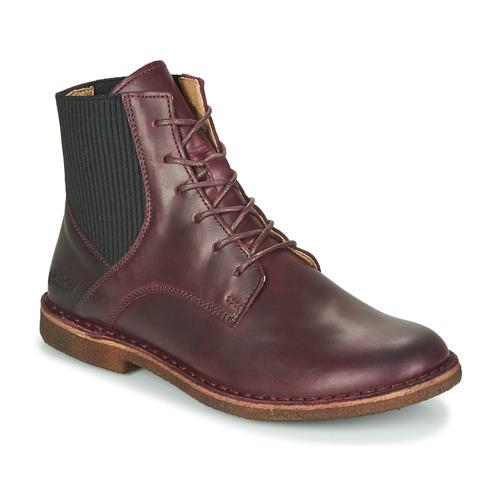 Shoes Women Mid boots Kickers TITI Bordeaux