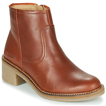 Shoes Women Mid boots Kickers OXYBOOT Camel