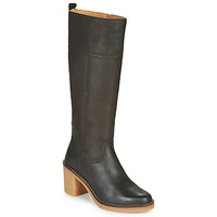 Shoes Women High boots Kickers AVERNO Brown / Dark