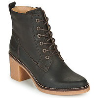 Shoes Women Ankle boots Kickers AVERNE Brown / Dark