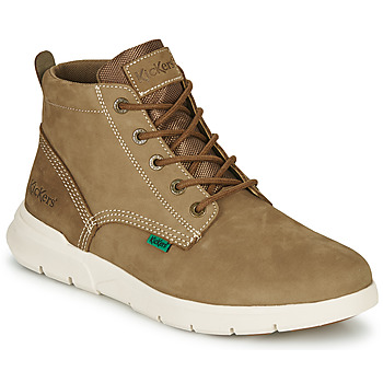 Shoes Men Mid boots Kickers KICK HI 2 Kaki