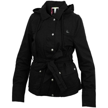 Clothing Women Trench coats adidas Originals ST Jckt Neo Black