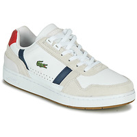 Shoes Women Low top trainers Lacoste T-CLIP 0120 2 SFA White / Marine / Red