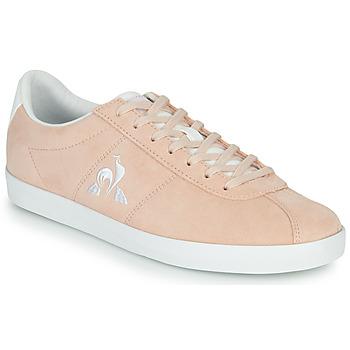 Shoes Women Low top trainers Le Coq Sportif AMBRE Pink