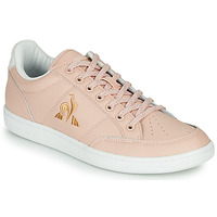Shoes Women Low top trainers Le Coq Sportif COURT CLAY W Pink