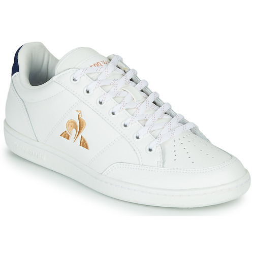Shoes Women Low top trainers Le Coq Sportif COURT CLAY W White / Blue