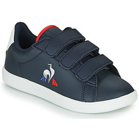 Shoes Children Low top trainers Le Coq Sportif COURTSET PS Marine