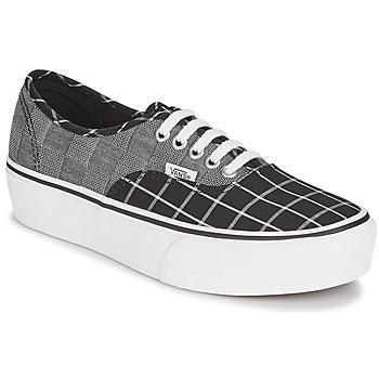 Shoes Women Low top trainers Vans AUTHENTIC PLATFORM 2.0 Grey