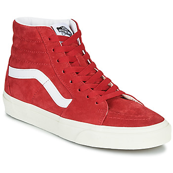 Shoes Hi top trainers Vans SK8-HI Red