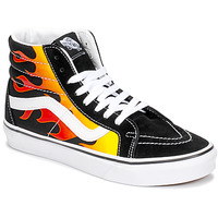 Shoes Hi top trainers Vans SK8-HI REISSUE Black / Flame