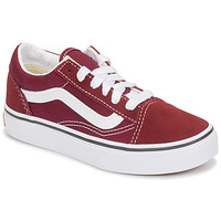 Shoes Children Low top trainers Vans UY OLD SKOOL Bordeaux